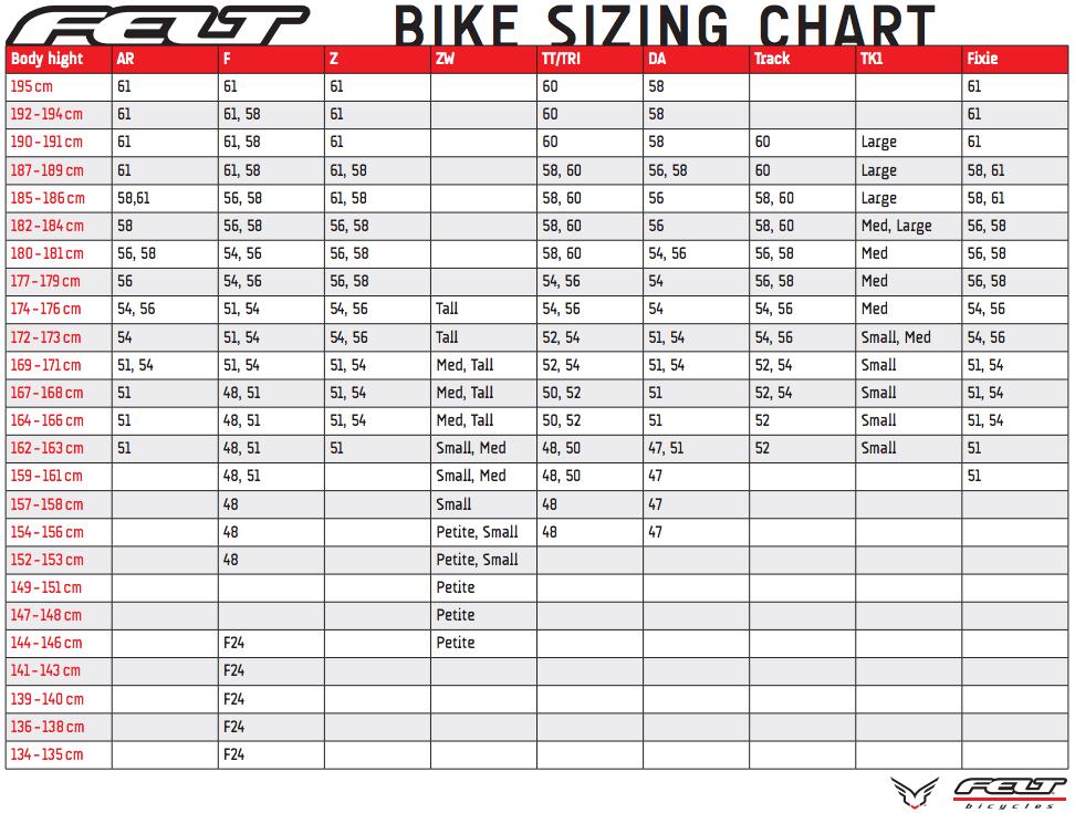 Triathlon Bike Frame Size Calculator - Best Photos Of ...